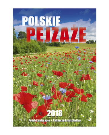 Kalendarz wieloplanszowy Polskie pejzaże
