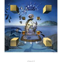 Kalendarz wieloplanszowy Salvador Dali - przykładowa strona