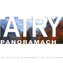 Kalendarz wieloplanszowy Tatry w panoramach - okładka