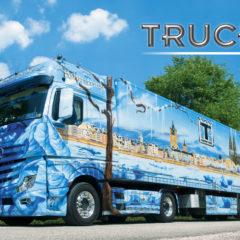 Kalendarz wieloplanszowy Trucks - okładka