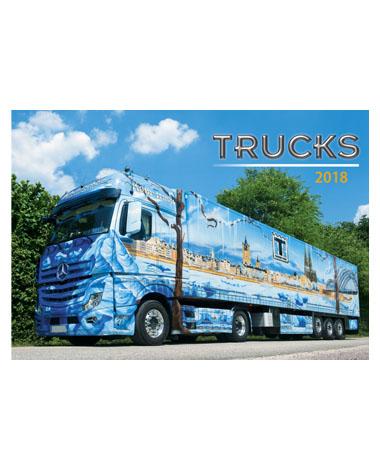 Kalendarz wieloplanszowy Trucks
