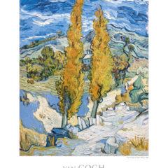 Kalendarz wieloplanszowy Vincent van Gogh przykładowa karta