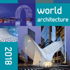 Kalendarz wieloplanszowy World architecture - okładka