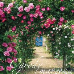 Kalendarz wieloplanszowy Ogrody marzeń - okładka