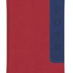 Kalendarze książkowe BI COLOR - vivela czerwona i granatowa