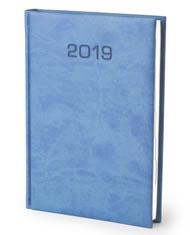 Kalendarze książkowe Blue