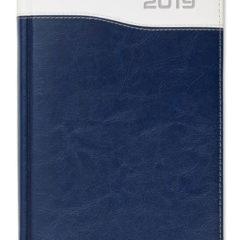 Kalendarz książkowy Combo Top granatowy / biały