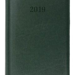 Kalendarz książkowy Elit zielony