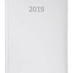 Kalendarz książkowy Elit biały