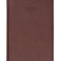 Kalendarz książkowy Vivela brąz