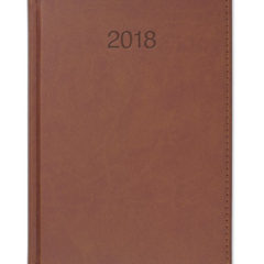 Kalendarz książkowy Vivela jasny brąz