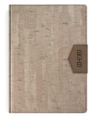 Kalendarze książkowe w oprawie imitacja drewna