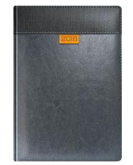 Kalendarze książkowe w oprawie szarej