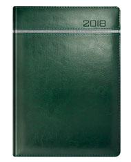 Kalendarze książkowe zielone z szarym