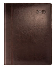 Kalendarze ksiażkowe brązowy