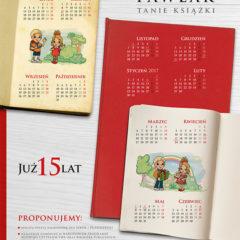 Indywidualne kalendarze plakatowe