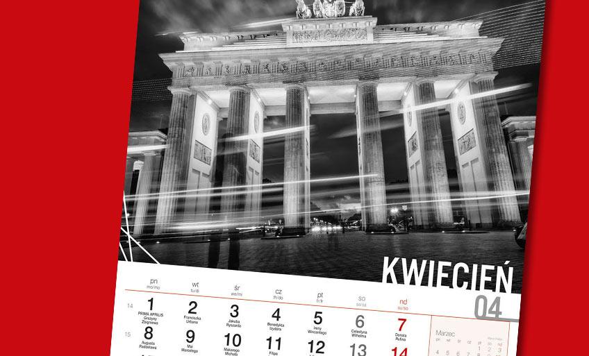 Kalendarze wieloplanszowe ścienne 2019