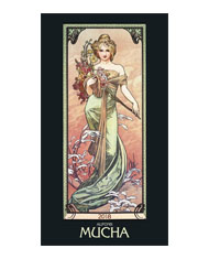Kalendarze wieloplanszowe Alfons Mucha