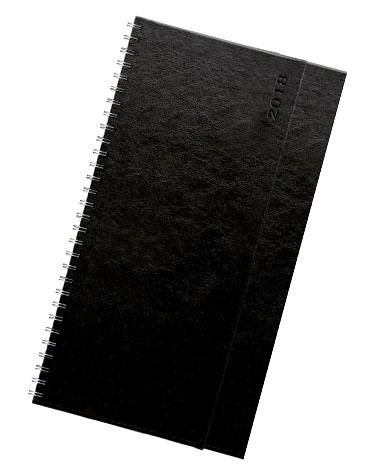 Terminarz biurkowy Nebraska czarny