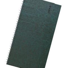 Terminarz biurkowy Nebraska - zielony