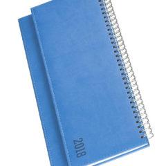 Terminarz biurkowy Vivela - niebieski