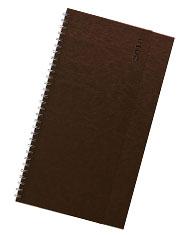 Terminarze biurkowe Nebraska brązowy
