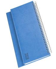 Terminarze biurkowe Vivela niebieski