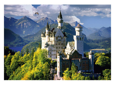 kalendarz jednodzielny Zamek