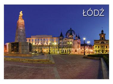 kalendarz jednodzielny Łódź