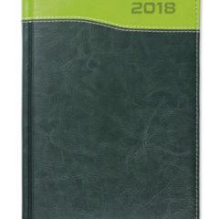 Kalendarz książkowy Combo Top zielony/jasnozielony