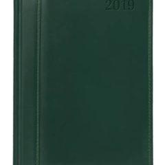 kalendarz książkowy Skóra Naturalna zielony