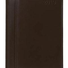 kalendarz książkowy Skóra Naturalna - brązowy