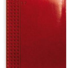 kalendarz-ksiazkowy-czerwony-z-tloczeniem