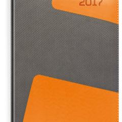 kalendarz-ksiazkowy-szaro-pomaranczowy