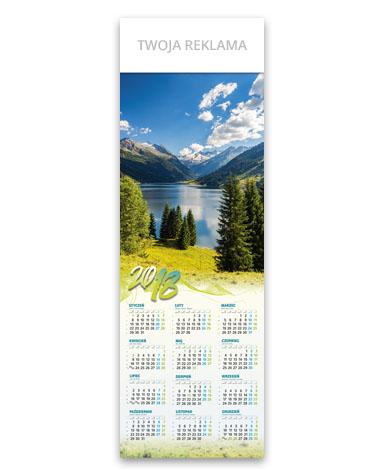 kalendarz plakatowy 1/2 B1 Górski klimat