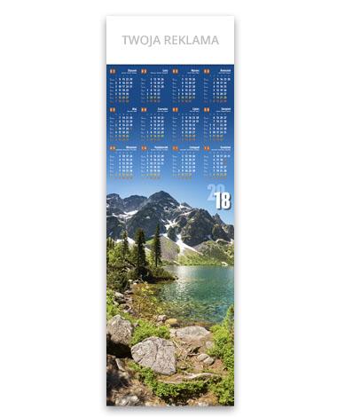 kalendarz plakatowy 1/2 B1 Morskie Oko