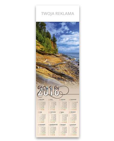 kalendarz plakatowy 1/2 B1 Nad Bałtykiem