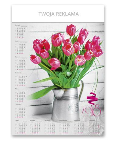 kalendarz plakatowy A1 Bukiet kwiatów