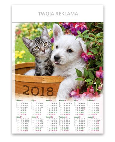 kalendarz plakatowy A1 Przyjaciele