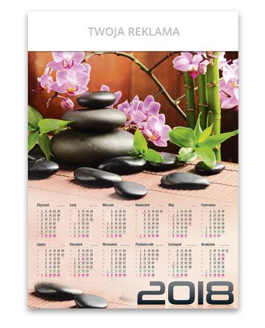 kalendarz plakatowy A1 Zen