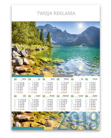 kalendarz plakatowy A1 Tatry