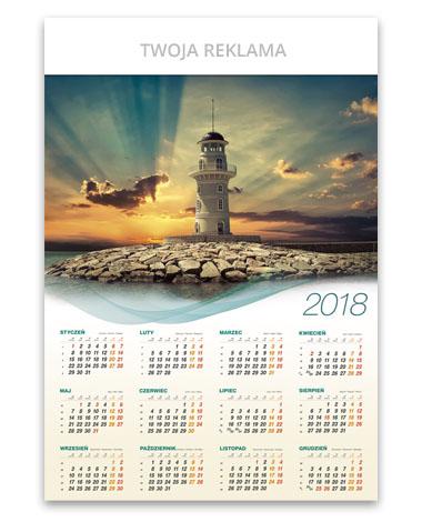 kalendarz plakatowy B1 Latania Morska