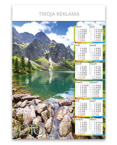 kalendarz plakatowy B1 Nad Morskim Okiem