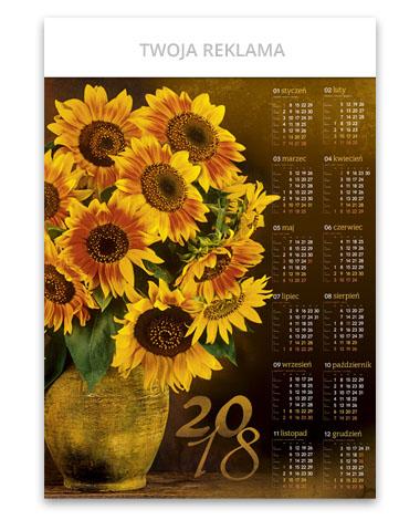 kalendarz plakatowy B1 Słoneczniki
