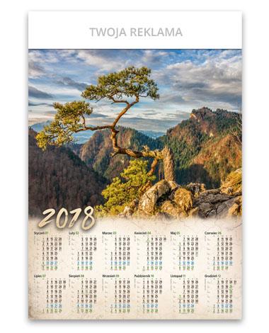 kalendarz plakatowy B1 Sokolica