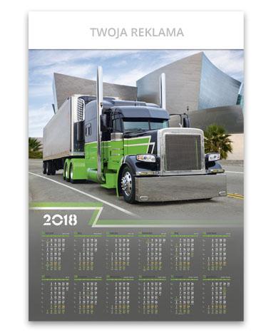 kalendarz plakatowy B1 Truck