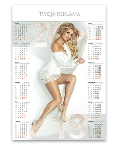 kalendarz plakatowy Iwona
