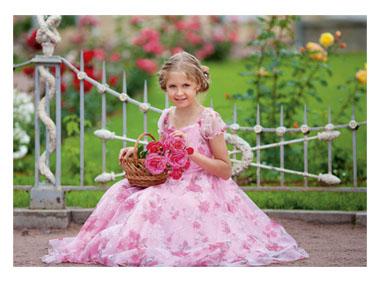 kalendarz trójdzielny Dziewczynka