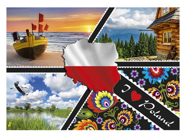 kalendarz trójdzielny Poland