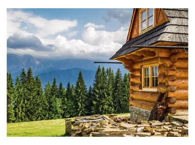 kalendarz trójdzielny Tatrzańska chata
